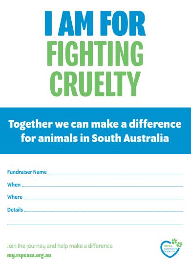 Invitations - I am for Fighting Cruelty