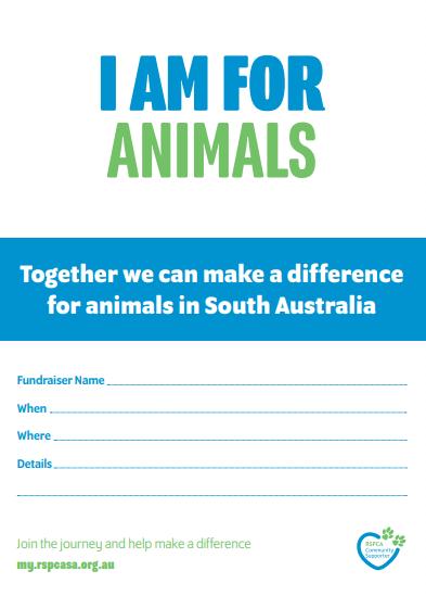 Invitations - I am for Animals