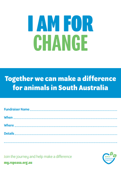 Invitations - I am for Change